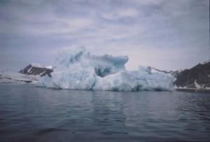 Iceberg, Spitzbergen 1995